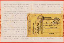 Nw1225 Lisez Lettre Prisonnier Blessé 19-01-1916 Adjudant JOUVION  Stalag HEUBERG Konstanz Baden Kriegsgefangenenlager - Deutschland
