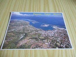Polynésie Française - Vue Aérienne De La Ville De Papeete,capitale De La Polynésie Française. - Polinesia Francese