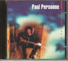 """PAUL PERSONNE """" COMME A LA MAISON"""" 1992 - Rock"""