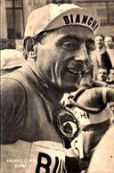 FAUSTO COPPI -  / TROU PUNAISE  / VOIR DOS   PHOTO VERITABLE  S.B.// ///  1 - Cyclisme