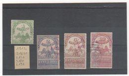 MEXIQUE 1914 YT N° 216 à 219 Oblitérés Et Neuf* - Mexico