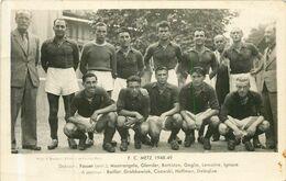 METZ FC Metz 1948-49 - CARTE PHOTO - Metz