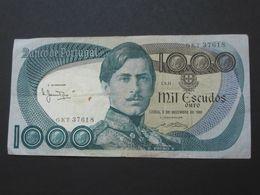 1000 Mil Escudos Ouro 1981 - Banco De  PORTUGAL  **** EN ACHAT IMMEDIAT **** - Portugal