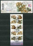 Südafrika South Africa Mi# 1817-21 Gestempelt(FDC/SST)/used/CTO - Fauna Funny Big 5 - Ohne Zuordnung