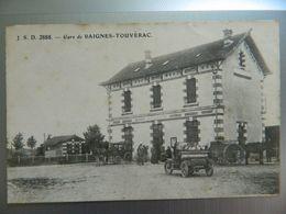 GARE DE BAIGNES TOUVERAC - Frankreich