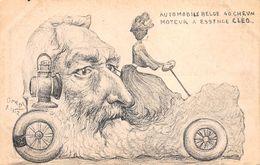 Illustrateur ORENS - Automobile Belge...Léopold II Et Cléo De Merodes. - Orens