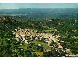 83  LA GARDE FREINET  Vue Panoramique Aérienne  Générale   Cpm Voyagée En 1983 - La Garde Freinet