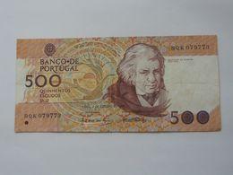 500 Quinhentos Escudos Ouro 1987 - Banco De  PORTUGAL  **** EN ACHAT IMMEDIAT **** - Portugal