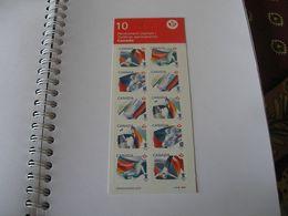 Carnet De 10 Timbres Canadiens Courants CANADA JO De VANCOUVER 2010 - Cuadernillos Completos/libretas Completas