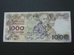 1000 Mil Escudos 1983 - Banco De Portugal  **** EN ACHAT IMMEDIAT **** - Portugal