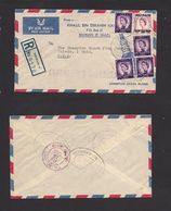 Bahrain. 1960. Bahrain A - USA, Toledo, DH. Air Multifkd Advertising Illustrated Automobil Parts Envelope New NP Values - Bahreïn (1965-...)