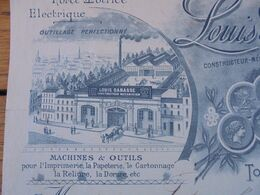 FACTURE - 31 - DEPARTEMENT DE LA HTE GARONNE - TOULOUSE 1898 - CONSTRUCTEUR-MECANICIEN : LOUIS DABASSE - Unclassified