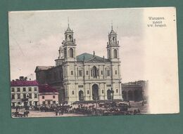 POLOGNE POLSKA-Warszawa Varsovie-kosciot Ww Swietych-eglise 2scans - Polonia
