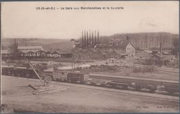 Us , La Gare Aux Marchandises Et La Sucrerie , Animée - Francia