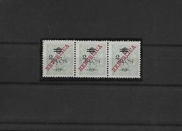 Macau. 1919. D. Carlos I. Ovptd. Choi 245(*) (x3) 2a/6a/80a. A Lovely Mint Strip Of Three. VF Condition. 1997 Cat HK$ 60 - Macao