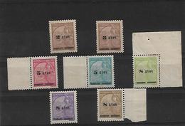 Macau. 1941-2. Choi 321/7xx Ovptd Issue Set Of 7 Unn Mint, Incl Borders Margins/ Original Full Gum. Premium Set 1997 Cat - Macao
