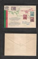 Macau. 1936 (1 Sept) Macau 3rd Commemorative Cachet. Air Trip Timor - Goa. Aviao Issue. FDC Illustrated Envelope. - Macao