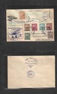 Macau. 1937 (28 April) 5th Commemorative Cachet. Macau - Philippines, Laguna (Apr 29) Aviao Issue. Air Multifkd Slogan C - Macao