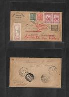 Macau. 1938 (10 Oct) Macau - Cabo Verde (25 Nov) Retour To Macau (1 Feb 39), Via Lisbon (14 Nov 38) + (6 Jan 39) Registe - Macao