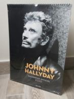 Calendrier Officiel Année 2020 JOHNNY HALLYDAY  Sous Blister NEUF Photos Posters Portraits Chanteur Acteur - Kalender