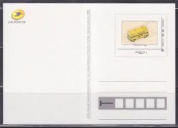 Type MonTimbraMoi Monde 20g Entier CP Camion Postal Après 1960 Cadre Phil@poste - Ganzsachen