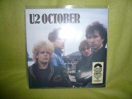 U2 - 33t Vinyles Crème - October - Neuf & Scellé - Collectors