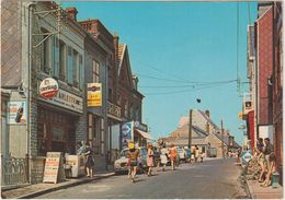 Somme : AULT  ONIVAL :  Rue  Saint  Valéry ( Bière  Bar Sterling, Martini  Pub , 4 L Renault , Etc...) - Ault