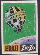 Netherland Space Weltraum Espace: Matchbox Labels: Telstar Communications Satellite - Boites D'allumettes - Etiquettes