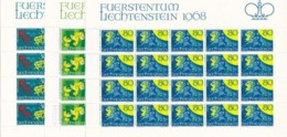 Liechtenstein, Kleinbogen Nr. 497/99**  (K 3518) - Bloques & Hojas