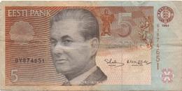 Estonie Estonia : 5 Krooni 1994 - Estland