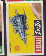 Netherland Space Weltraum Espace: Matchbox Labels: Sputnik 3 - Boites D'allumettes - Etiquettes