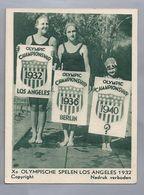 Xe Olympische Spelen Los Angeles 1932. Waternymphen. Georgia Coleman, Veertien Jarige ?  En De Vijfjarige Joy Crew - Other