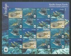PENRHYN- MNH - Animals - Reptiles - Turtles - 2014 - WWF - Turtles