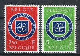 Bélgica 1959. Yvert 1094-95 ** MNH. - Ungebraucht