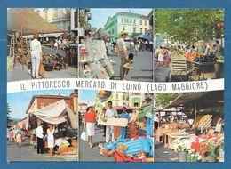 LUINO VARESE IL PITTORESCO MERCATO N°629 - Luino
