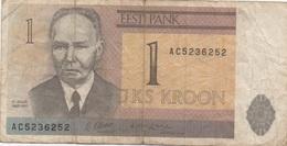 Estonie Estonia : 1 Kroon 1992 - Estland