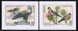 """ITALIA / ITALY / ITALIEN   -EUROPA 2019 -NATIONAL BIRDS.- """"AVES -BIRDS -VÖGEL-OISEAUX""""- Serie De 2 V. - 2019"""