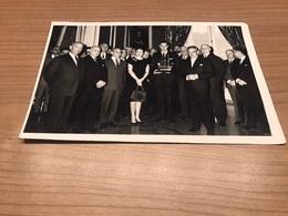 Foto Oostendse Delegatie Ontvangst Door Prins Rainier En Prinses Grace Te Monaco - Burgemeester Piers - Oostende - Oostende