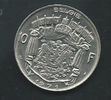 1971 - Belgique - Belgium - 10 FRANCS, Légende Belgie  -   Pieb 24001 - 06. 10 Francs