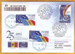 2020 Moldova Moldavia 25  Council Of Europe. European Ideas. - Europäischer Gedanke