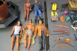 Figurines Et Accessoires Big Jim Mattel 1971 - Figurillas