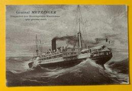 12660 - Général Metzinger - Paquebote
