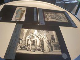 Serie D Une Centaine Plaques Verres Photographique Historique Vendues Dans Leur Boîte Originale - Glass Slides