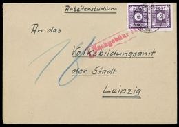 1946, SBZ Ostsachsen, 62 (2), Brief - Sowjetische Zone (SBZ)