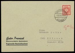 1945, SBZ Ostsachsen, 60 A, Brief - Sowjetische Zone (SBZ)