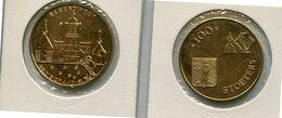 1981 Herenthout - 100 Stoeters - Token - Penning - Méraux De Communes - Nr 91 Geel Koper - Tokens Of Communes