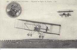 AVIATION -  CIRCUIT DE L'EST - 121 Weymann Sur Biplan H. Farman - Sonstige