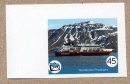 BRD - Privatpost - Nordkurier - Schiff Ship - Die FRAM Der Hurtigruten Vor Longyearbyen (Spitzbergen) - Barche