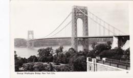 New York City George Washington Bridge Real Photo - Ponts & Tunnels