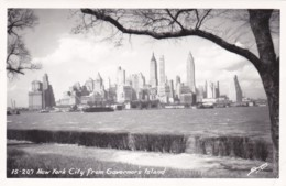 New York City View From Governor's Island 1952 Real Photo - Multi-vues, Vues Panoramiques